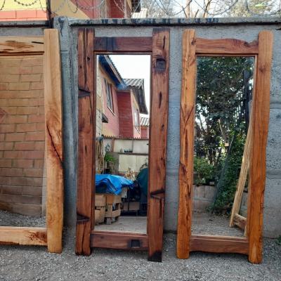 Espejos En Roble. Medidas 0.70 x 1.80 metros